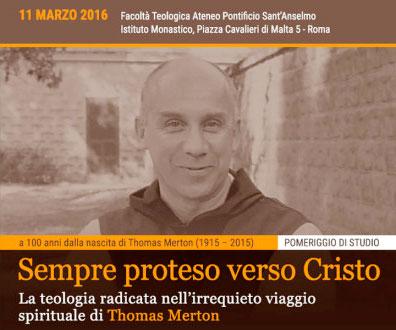 G. Masturzo, Relazione sul Convegno dedicato a Thomas Merton